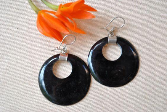 Guatemalan Jade Earrings by VincaJewelry on Etsy, $49.00