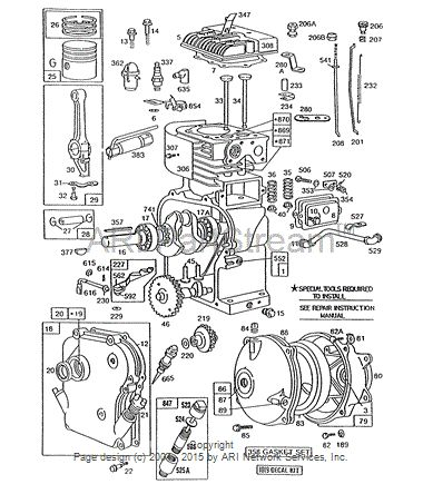 brute lawn mower engine diagram