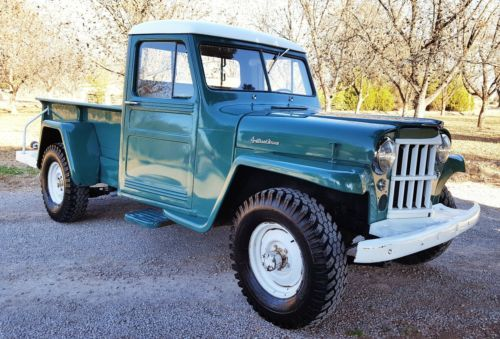 1960 Willys Custom Jeep 4x4 Pickup Truck Vintage Classic 1960s Trucks For Sale 1960 Chevy Ford Truck And Classic Pickup Trucks Willys Jeep Pickup Trucks