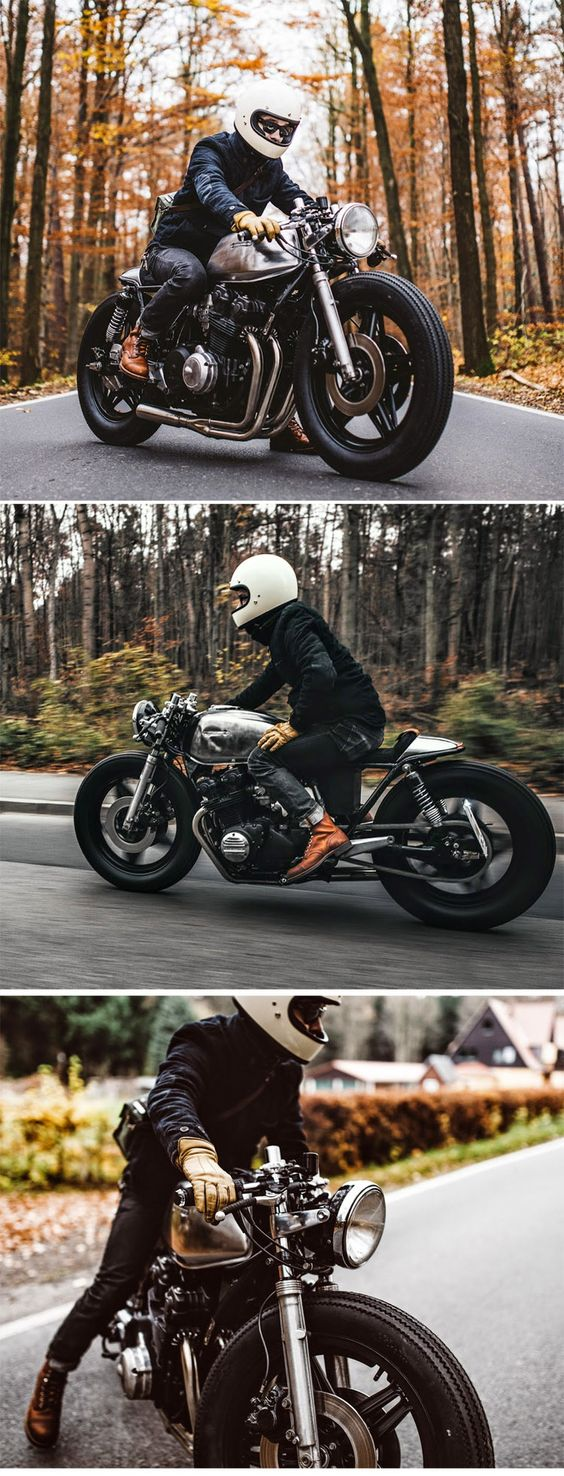 1983 Honda CB750 K(Z) by Hookie      http://rocket-garage.blogspot.ca/2014/12/hookie-iv.html