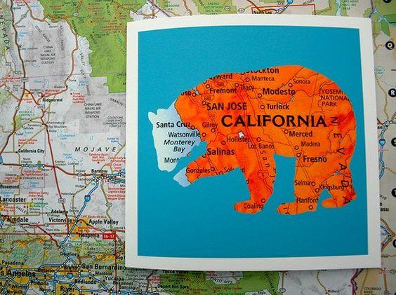 Urban Legend-California-Greeting Card