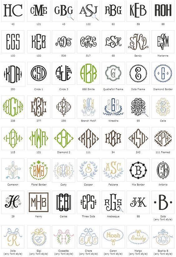 17 best images about monogrammed shams