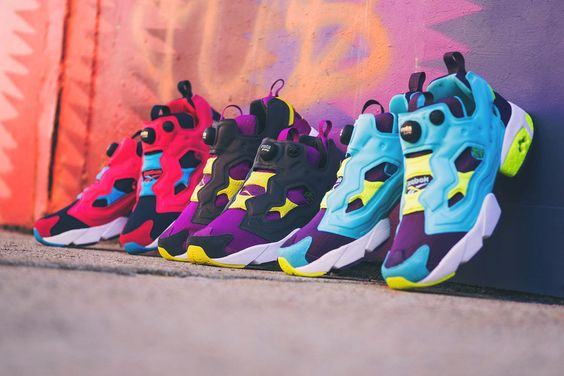 "God Save the Queen and all: Reebok Spring/Summer 2015 Instapump Fury ""Athletic... #reebok #instapumpfury #sneakers #ss15"