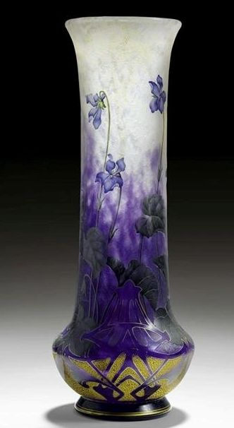 Art-Monie: Les frères DAUM I think this is glass but would work as pottery
