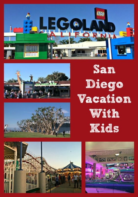 San Diego Vacation with Kids