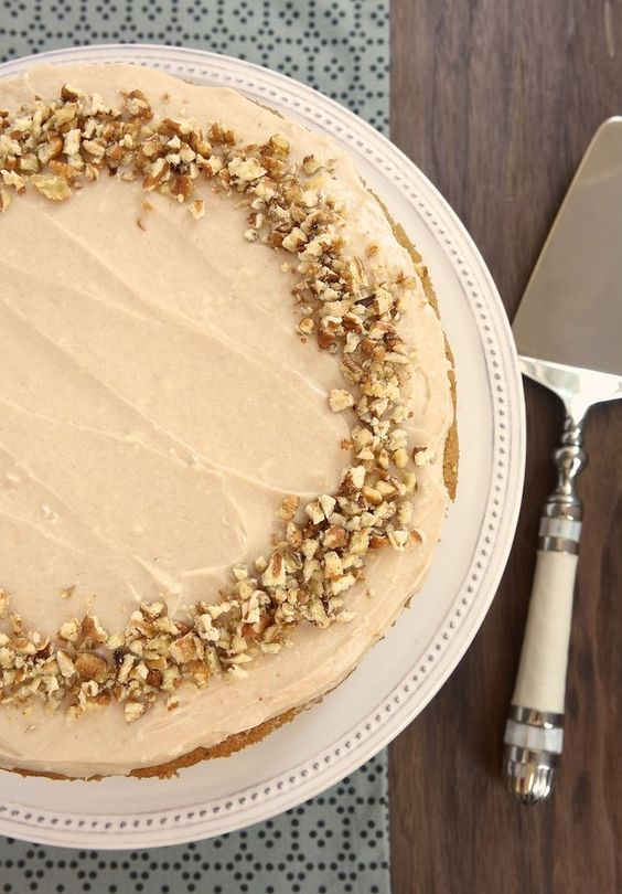 Apple spice cake, Spice cake and Cinnamon cream cheeses on Pinterest