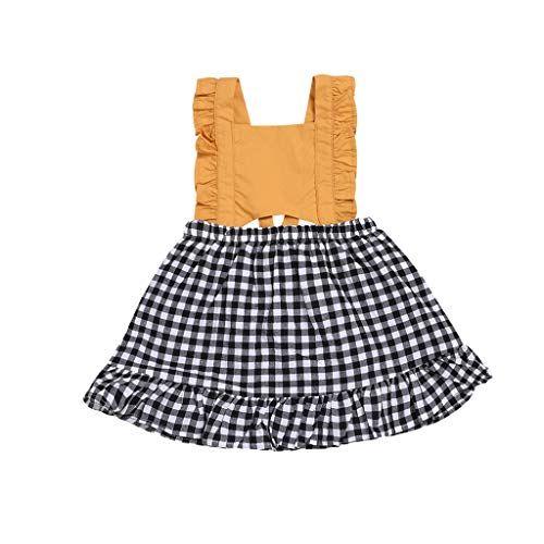 Kids Girls Chinese Style Cheongsam Embroidered Big Bow New Year Dress Waymine