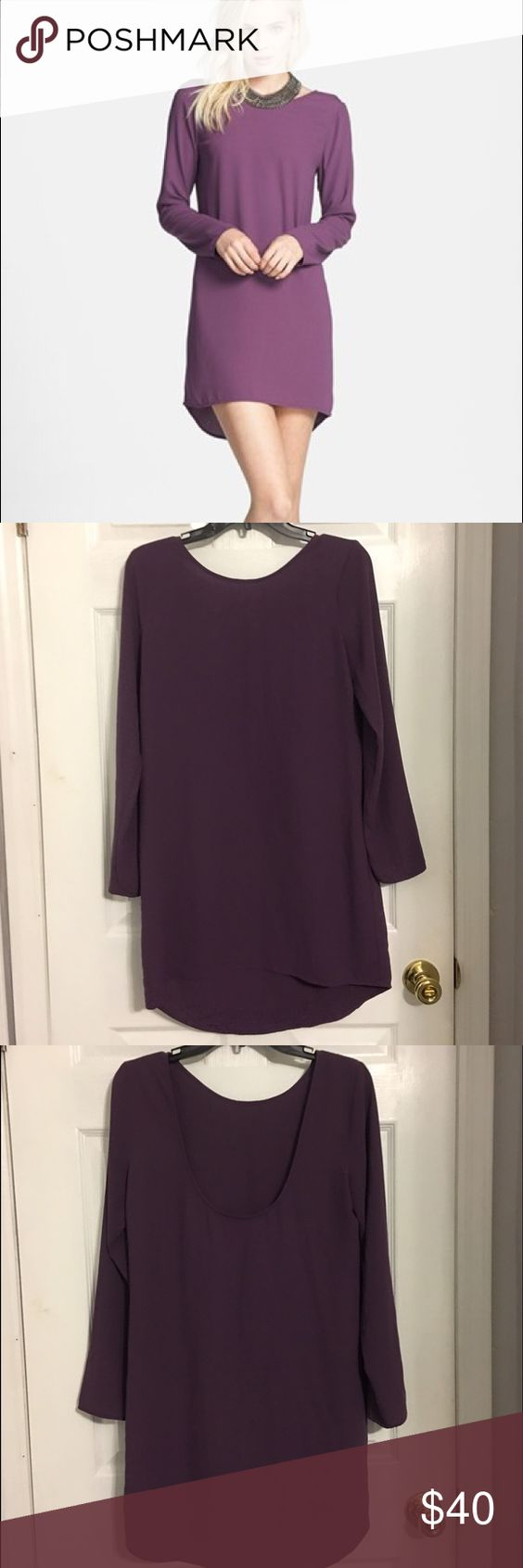 Tildon Scoop Back Shift Dress Purchased from Nordstrom. Size small. Excellent condition!!! Worn one time to work. Fits true to size but can be right in the shoulders. 100% polyester. Tildon Dresses