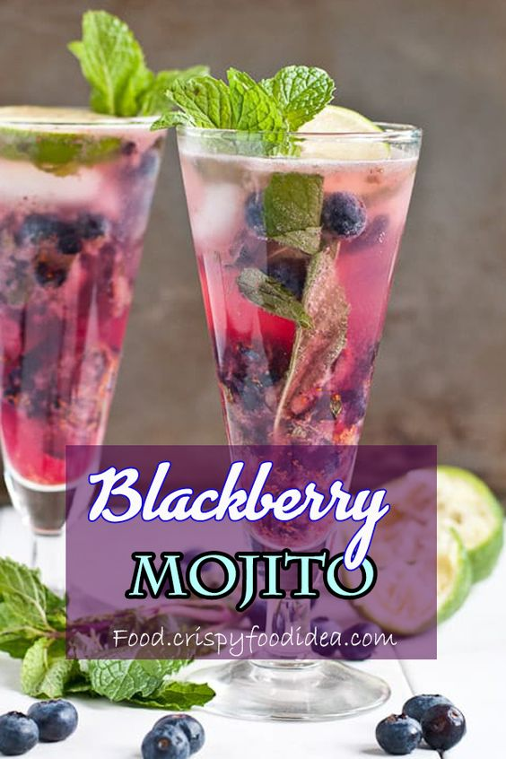 Blueberry Ginger Mojito Pitcher Recipe