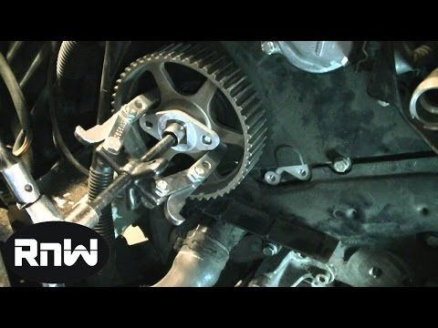 How To Replace The Timing Belt On A Vw Passat Audi A4 A6 2 8l Engine Part 2 Youtube How To Replace The Timing Belt Wat Vw Passat Timing Belt New Trucks