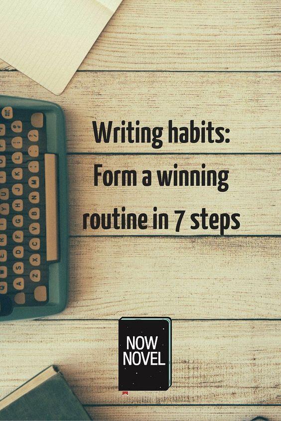 writing habits Compre how to build good writing habits (english edition) de zak khan na amazoncombr confira também os ebooks mais vendidos, lançamentos e livros digitais.