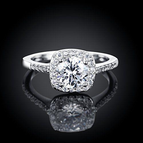 One Cent Online Eternal Love Women S 18k Rose White Gold Plated Cz