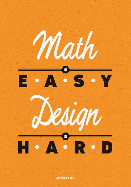 How does math relate to Graphic Design?