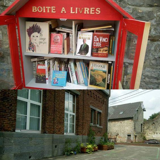 boîte à livres Gourdinne Walcourt