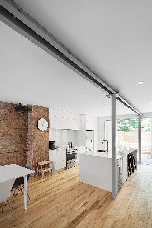 Dividir ambientes: cocina y salón