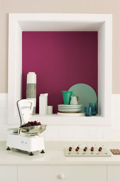 Couleur peinture cuisine comment relooker votre cuisine for Dulux valentine cuisine et bain