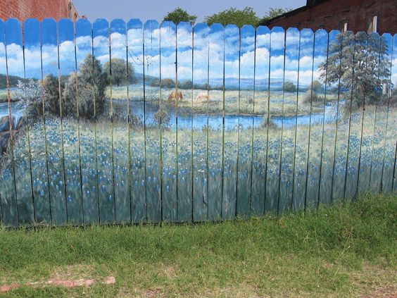 10 Ways to Make Your Fence Beautiful #garden #DIY #Uniquegardendecor