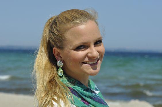 Summerfeeling pur - Ohrringe Chloe sind DAS filigrane It-Piece. #schmuck #ohrringe #accessoires