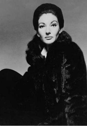 Callas,  Avedon  #blackglama