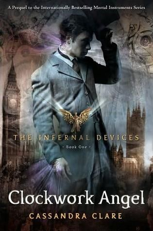 Clockwork Angel by Cassandra Clare.. loved this! cannot wait for the next. Love Cassandra Clare's books