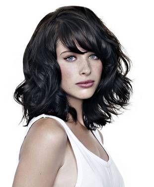 Medium Layered Haircut For Wavy Hair