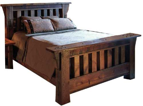 Wood Beds Wood Bedroom Furniture And Reclaimed Barn Wood On Pinterest
