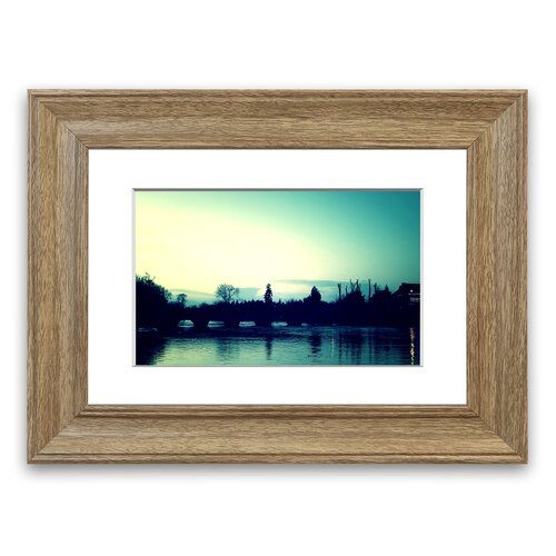 River 10 Framed Photographic Print East Urban Home Size 30 Cm H X 40 Cm W Frame Options Teak Poster Painting Frames Painting Prints