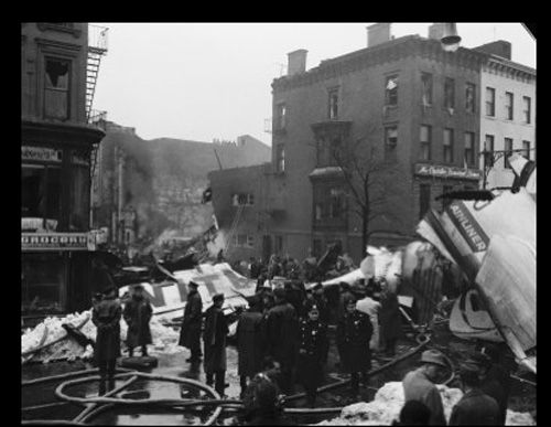 1960 United Airlines plane crash in Park Slope in Brooklyn