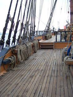 Spanish Galleon Deck Pirate Ship Wooden Ship Tall Ships