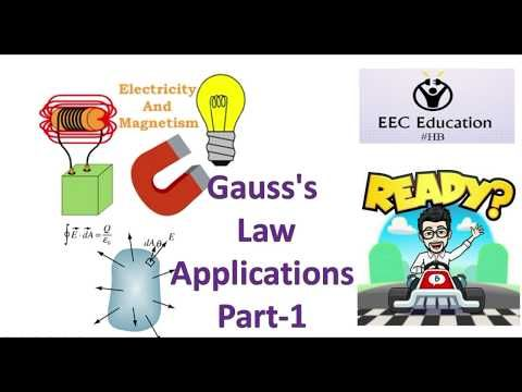 Gauss Law Applications Part 1 Youtube With Images Gauss S