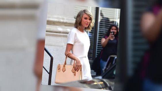 Taylor Swift y Calvin Harris vistos la siguiente mañana