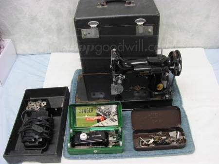 shopgoodwill.com: Vintage 1930's Singer Sewing Machine