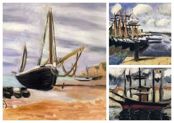 Henri Matisse Collection VI (Boats)
