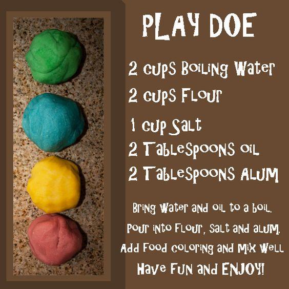 We Love Being Moms!: Homemade Play Doe!
