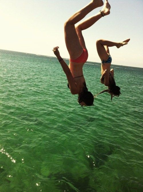 ♥ - @Kenna Watson, @Brianna Weaver, @Megan Marques - We need to go cliff diving this summer. It's happening.