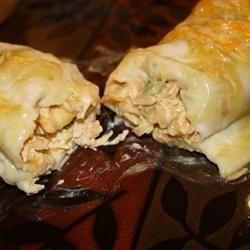 Enchilada's met kip, groene pepers en roomkaas @ allrecipes.nl