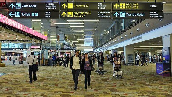 Cách di chuyển từ Nhà ga số 1 sang Nhà ga số 2 ở Changi