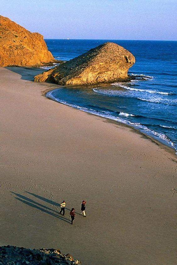 Playa del Mónsul, Almería