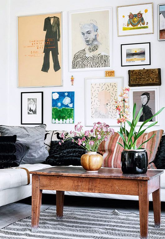at home with: designer trine skollers.
