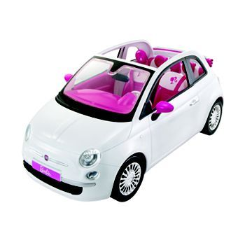 barbie doll and fiat car by mattel kohlsdreamtoys toys that i want for christmas pinterest. Black Bedroom Furniture Sets. Home Design Ideas
