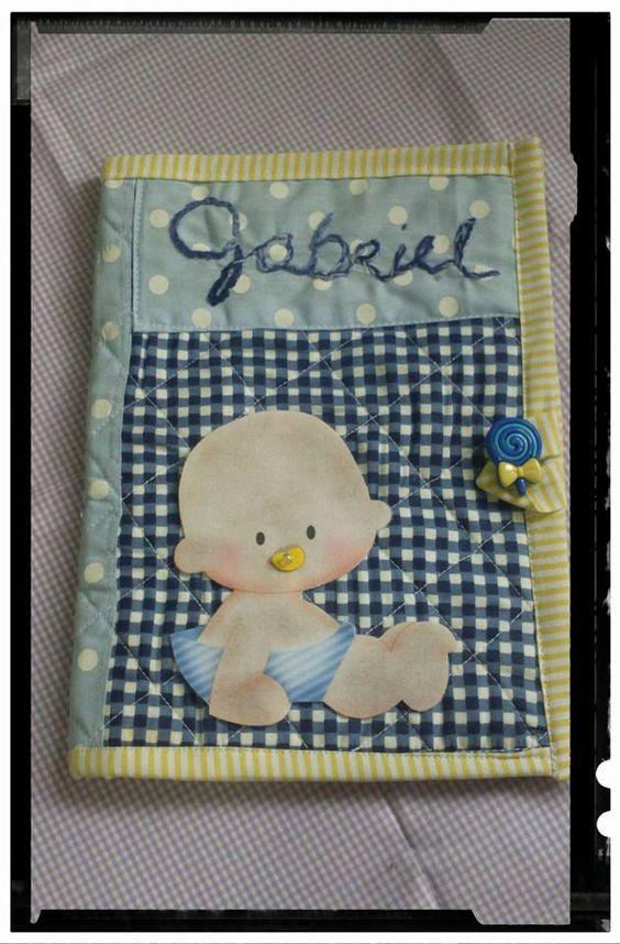 Porta caderneta de vacina do Gabriel