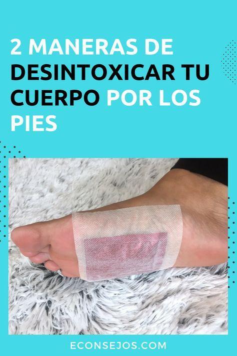 desintoxicar cuerpo por los pies