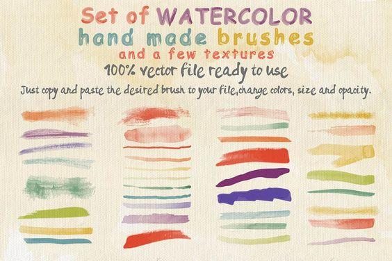 Annalvanir watercolor brushes