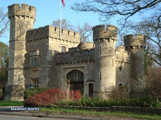 Location Works: Castles - please quote reference 49254, 95 miles (153km) from London. Early victorian gothic fantasy castle, originally the gatehouse to an estate, now run as an exclusive country retreat. Somerset. (a few photos, very nice small castle)