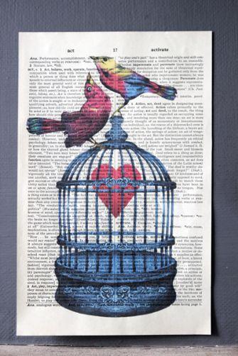 Love Birds and Heart
