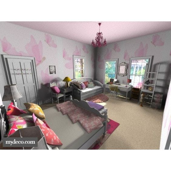 Hanna Marin PLL Bedroom Liked On Polyvore