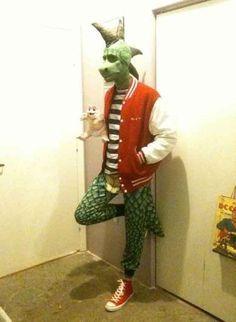 "Robbie from ""Dinosaurs"", Halloween, Costumes, Carnival I Karneval, Fasching, Fastnacht, Kostüm, Verkleidung, Dinosaurier"
