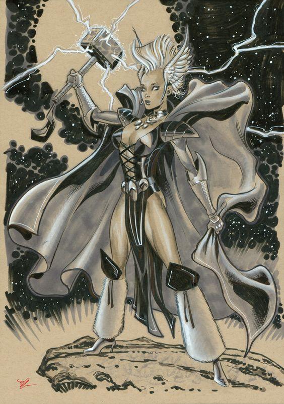 Storm Asgardian by MichaelDooney on DeviantArt