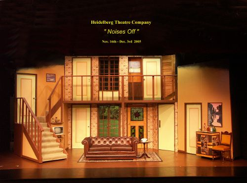 Noises off images small theater noises off set set for Auditorium stage decoration