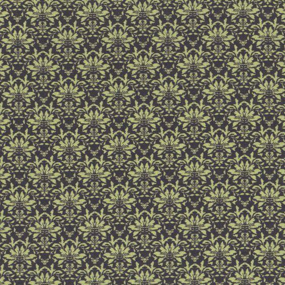 3505 - Damask Tom Tom Verde Brumas - Tecidos Fabricart